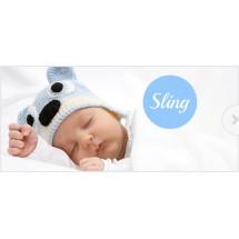 Намотка Кенгуру з немовлям