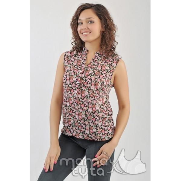 Блуза цветы