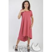 Платье светлый амарант