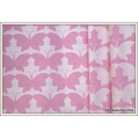 Yaro Butterflies Pink