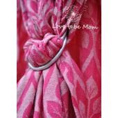 Yaro La Vita Rose-Natural Bourette Ring Sling
